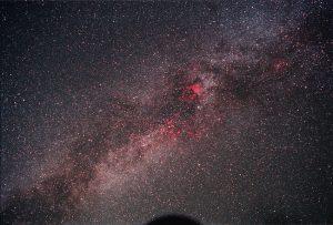 Cygnus to Aquila Milky Way