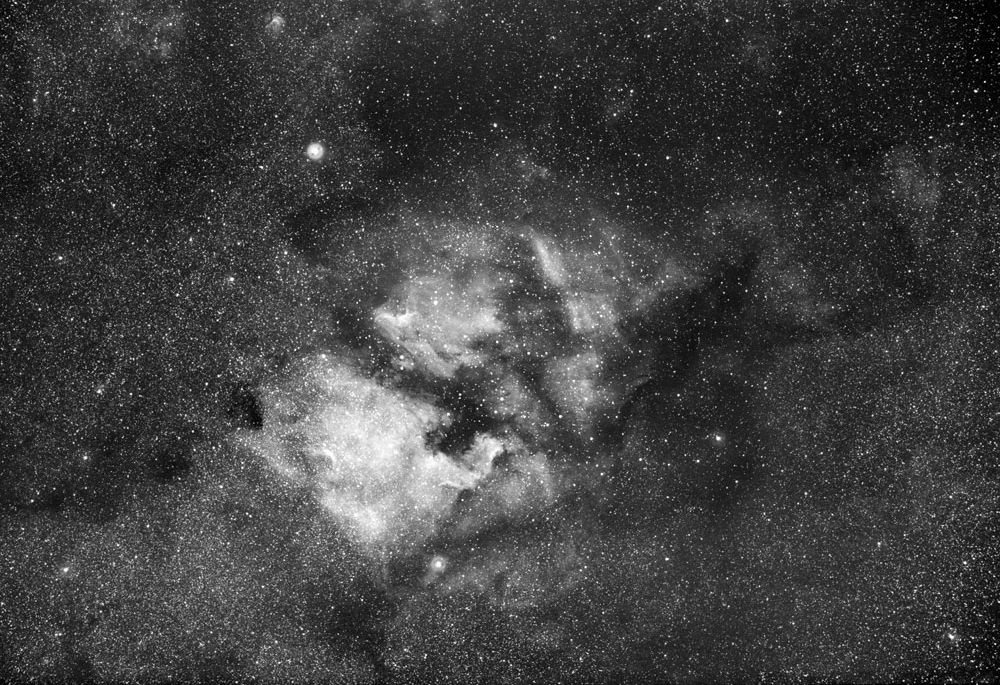 North America and Pelican Nebulas